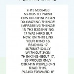 If You Can Read This, You Have A Genius Mind