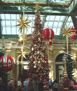Christmas Tree at Bellagio