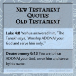 {The New Testament Quoting the Old Testament Part 6}