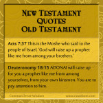 {The New Testament Quoting the Old Testament Part 7}