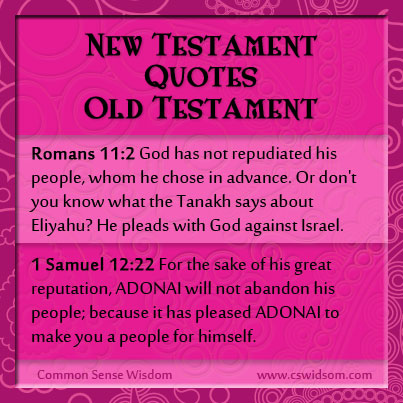 New Testament Quotes Old Testament Part 8