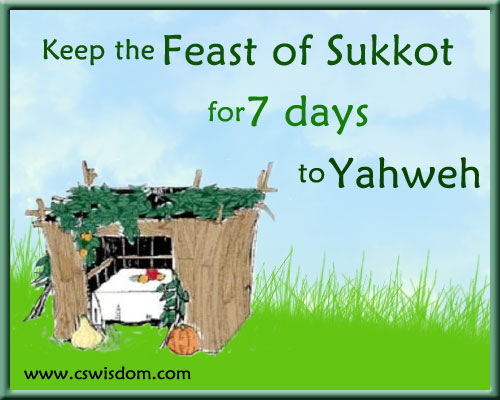 Sukkot - Feast Day of the Lord