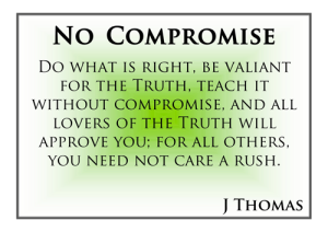 no-compromise
