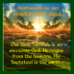 Awesome God - www.cswisdom.com - Common Sense Wisdom