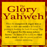 The Glory of Yahweh - www.cswisdom.com