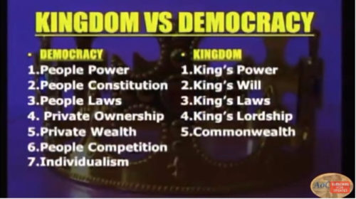Kingdom Vs. Democracy - Dr. Myles Munroe - www.cswisdom.com